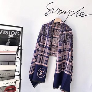 Wholesale Fashion Cashmere Women Scarf Vintage Style Winter Warm Girl Pashmina Outdoor Casual Comfortable Scarves for Female