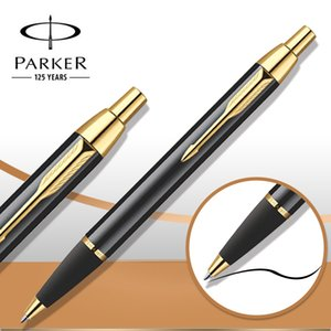 Wholesale Parker IM Ballpoint Pen Silver Golden Clip Business Parker Ball point Pen Office School student Writing supplies