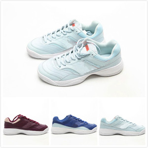 Wholesale high quality female Court Lite 2 tennis shoes women 2 sport Sneakers red Navy blue Light cyan Foam Shoes woman designer Les chaussures