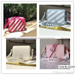Wholesale Diagonal Baby Off Mini Flap Bag Woman Classic Bags Simple Small Square Pink Blue Red White Black Sculpture Handbag Size cm