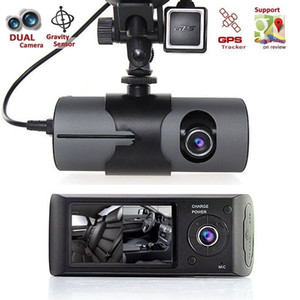 Wholesale Car DVR Camera Full HD P DVRs Recorder Dash Cam Dual Lens Vehicle Rear View Camera Camcorder Night Vision Dashcam