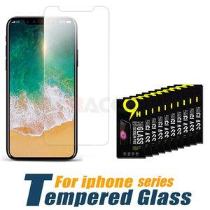 Wholesale For iPhone XS Max inch Tempered Glass iPhone X Screen Protector For iPhone Series Film mm D H Paper Package