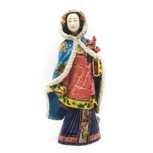 Wholesale Dolls Porcelain Fairy Collectible Angels Chinese Culture Art Sculpture Decorative Figurines Figure Statue Home Decor Crafts