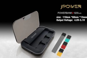 Wholesale Jpower Power Bank mah for Juul Vape Pen kit Portable Charging Holder Case Led Light display Micro USB Jpwer Box DHL shipping