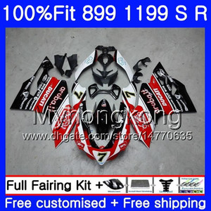 Injection For DUCATI 899 1199 S R Panigale 12 13 14 15 16 325HM.0 899R 1199R 899S 1199S 2012 2013 2014 2015 2016 OEM Fairing Hot red black