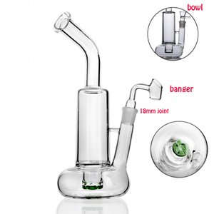 Tornado Bong Water Pipes heady glass Water Bongs Heady rig Recycler Dab Oil Rigs 10.8 inchs Tall Hookahs Shisha