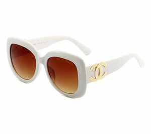 Wholesale 2019 Round Metal Sunglasses Designer Eyewear Gold Flash Glass Lens For Mens Womens Mirror Sunglasses Round unisex sun glasse