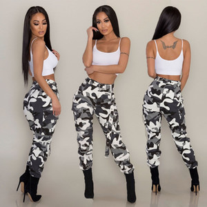 Wholesale Jeans Women Camo Cargo Trousers Casual Pants Military Army Combat Camouflage New