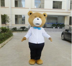 Wholesale new kind of beer Hot Sale Tedy Costume Adult Fur Teddy Bear Mascot Costume
