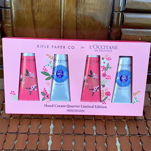Wholesale hand cream sets resale online - New Gift Box Hand Cream Kit EN PROVENCE Set ml Hands Skin Care with Gift bag