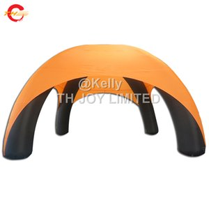 Wholesale 6m dia custom made legs Promotional spider inflatable tent outdoor inflatable event cross tent cheap inflatable lawn dome tents