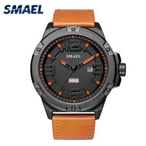 Wholesale big leather watches men for sale - Group buy Men Watches Big Dial Casual Alloy Analog Digital Mens Wristwatch Sports Waterproof relogio Quatz Watches Bracelet Leather