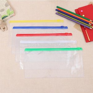 hot sale 200pcs Waterproof Zipper Bag Document Pen Filing Products Pocket Folder Office & School Storage Supplies