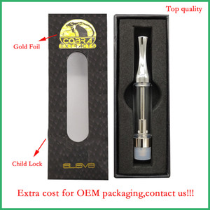 Wholesale wickless vape pen for sale - Group buy 510 Empty Vape Pen Cartridges OEM Custom Logo Packaging Gold A3 refillable ceramic coil glass atomizer thick oil wickless vaporizer pen
