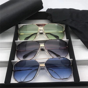 New men's and women's fashion sunglasses 905 retro sunglasses metal box German designer uv400 lenses with the highest quality free shipping