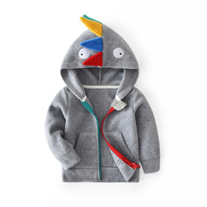 BibiCola 2018 Autumn Baby boys Girls hoodies coat Children fashionable Coat Kids Outerwear Kids Girls coat on Sale