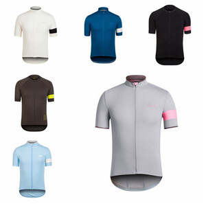 Wholesale NEW Cycling Short Sleeves jersey RAPHA team Racing Clothes Comfortable Breathable Sports wear free delivery H62108
