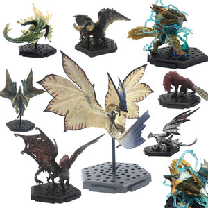 Wholesale Popular Games Dragon Model Japan Monster Hunter World Monsters PVC Zinogre Action Figure Decoration Christmas Gift Toy