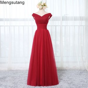 Wholesale Robe de soiree wine red floor Length lace up evening dress 2019 Elegant Prom Dress Tailor Made Plus Size Custom