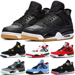 Wholesale 2019 High Quality s Basketball Shoes Laser Black Gum Toro Bravo Bred Men Designer Sneaker Fear Pack Fire Red Athletic Trainers