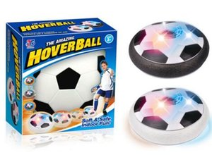 Wholesale LED Football Disc Gliding Floating Ball Toy Lights up Air Colorful Outdoor Hover Air Suspended Football Soccer Indoor Sports Novelty Games