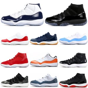 Wholesale Bred Concord s air jordan retro basketball shoes Cap and Gown Orange Trance Snakeskin women mens trainers Sport Sneakers