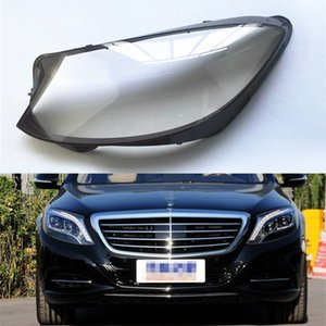 Wholesale For Mercedes-Benz S Series W222 S350 S400 2014 2015 2016 2017 Car Headlight Headlamp Clear Lens Auto Shell Cover