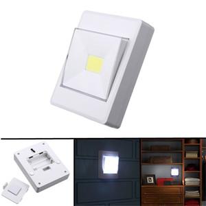 Wholesale SUPli LED COB Battery Operated Wireless Switch Night Lamp Closet Under Cabinet Bedside Wardrobe Lights