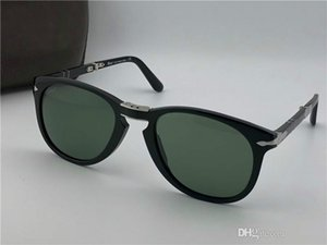 Wholesale Top Quality Persol Sunglasses Series Italian Designer Pliot Classic Style Glasses Unique Shape Uv400 Protection Can Be Folded Style
