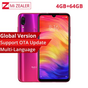 "Wholesale Global Version Xiaomi Redmi Note 7 4GB 64GB Snapdragon 660 Octa Core 4000mAh 6.3"" 2340*1080 48MP+5MP Cellphone Dual Cameras"