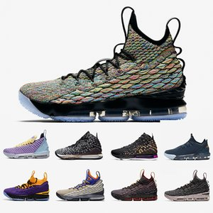 Four Horsemen James 15 16 17 Mens basketball shoes LA MPLS 15s BHM Graffiti Ghost King Agimat Heritage Equality men sports sneakers 7-12