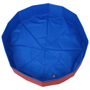 Wholesale Foldable Pet Dog Swimming House Dog Bed Summer Pool Blue Red for VIP link Dog House