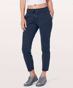 LU-33 Women Lisse Jogger yoga On The Fly Pants Street To Studio Pant II Unlined Sports With Pocket Gym Wear Fitness Lady Workout