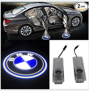 Wholesale 2019 new hot item Ghost Shadow Light Welcome Laser Projector Lights LED Car Door Logo For BMW by dhl