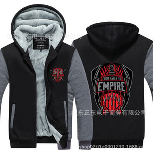 winter hoody Roman Reigns Wrestling training Men women Thicken autumn Hoodies clothes sweatshirts Zipper jacket fleece hoodie streetwear