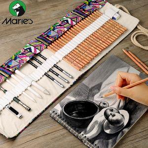 Marco sketch pencil set Multi-model beginner student painting pencil curtain set school painting art supplies