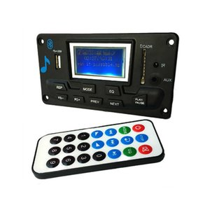 12V LCD Bluetooth MP3 Decoder Board Decoding MP3 Player Module Support Radio USB With Lyrics Display