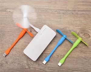 New Arrival Hot Selling Portable Mini USB Fan Fan Charge Portable Power Bank Fan for PC Laptop Desktop