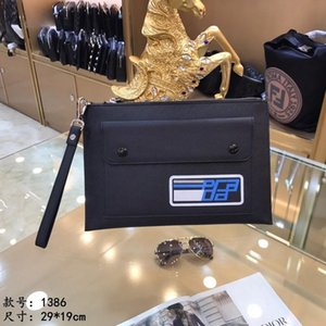 Wholesale Men Designer Clutch Bag Handbags Genuine Leather Luxury Bags Real Leather Purse Bags 1386
