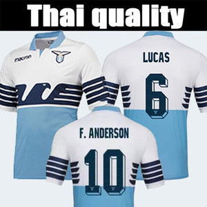 Men 2019 Lazio Home Blue Soccer Jerseys 18 19 Lazio Soccer Shirts #17 IMMOBILE #21 SERGEJ #19 LULIC #10 LUIS ALBERTO Football Shirt On Sales on Sale