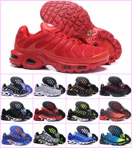 Wholesale New Arrival Womens Mens Shoes Rainbow Colorful White black red tn ultra Chaussures plus Sneakers Breathable requin Running Shoes
