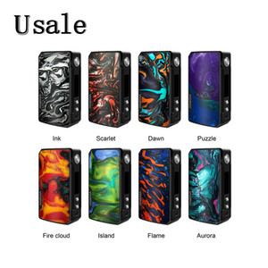 Wholesale VOOPOO Drag Mod W TC Box with GENE Chip and Innovative FIT Mode Powered by Dual Batteries with OLED Screen Original