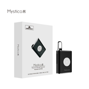 1pcs Original Mystica R mini Box battery 450mah Preheat VV Vape Mods Fit 510 O pen Atomizer vape Cartridge 12MM diameter
