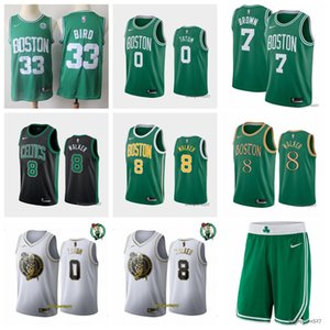 Wholesale Boston Celtics Kemba Walker Jayson Tatum Earned basketball Association Icon City Edition basketball Jers