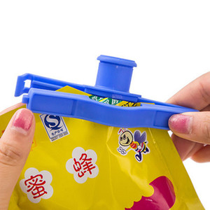 Creative Snack Bags Sealer Bag Mouth Sealing Clip Eco Friendly Random Color Kitchen Gadgets