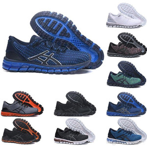 Gel-Quantum 360 SHIFT Stability Running Shoes T728N bule white athletic outdoor Sports Jogging shoes trainer speed women sneaker size 8-11