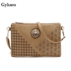 Hot 2019 Summer Ladies Hollowed Out Casual Envelop Bags For Women Messenger Bags Female Small Evening Clutch Shoulder Bag on Sale