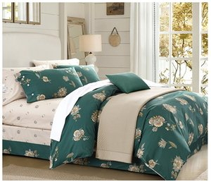 Wholesale kind bedding set for sale - Group buy 2019 soft cotton designs reactive print bed sheet bed linen four pieces bedding set queen and kind size striped huangjiache