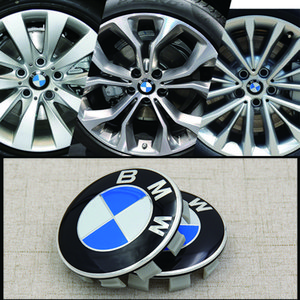 4pcs set 68mm 56mm 2.2 2.67 inch Bmw E60 E61 E90 E91 E92 F13 F16 F07 F10 F11 F20 F25 F26 F30 Wheels Tires Hub Center Cover Case on Sale