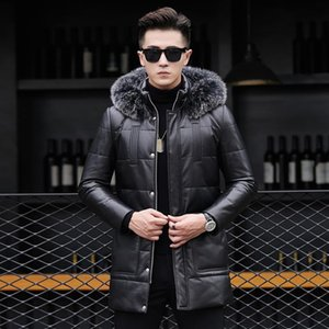 Wholesale Qt1614 New Winter Really Pipi Down Jacket Male Fox Collars In 16316 P800 Long Thickening Of Cultivate Morality
